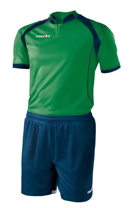 GREEN/NAVY Short Sleeve Hagen Set