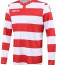 RED/WHITE Long Sleeve Kepler Shirt