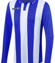 BLUE/WHITE Long Sleeve Skoll Shirt