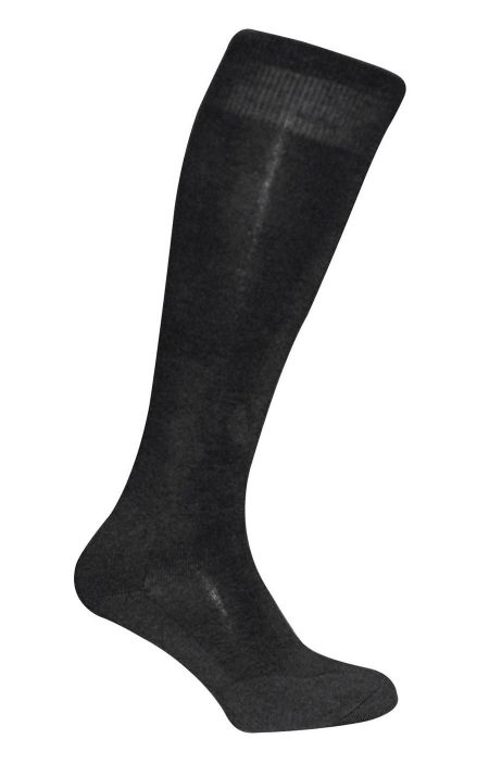 BLACK Twin Tech Monocolour Socks
