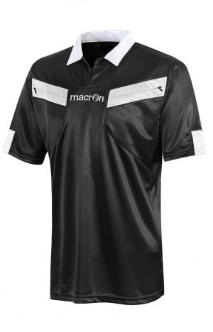 BLACK/WHITE Referee Short Sleeve Shirt