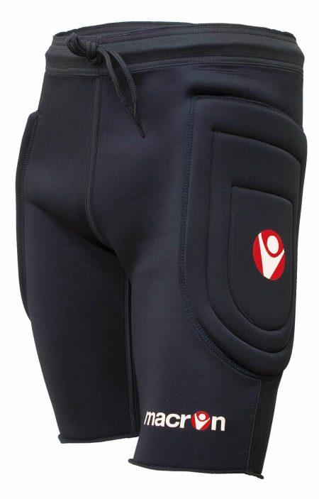 BLACK Turbo Padded GK Shorts
