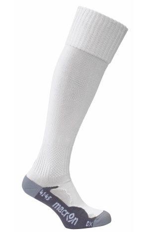WHITE Rayon Monocolour Socks