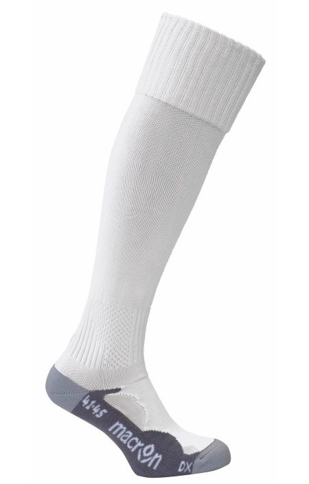 WHITE Rayon Monocolour Socks