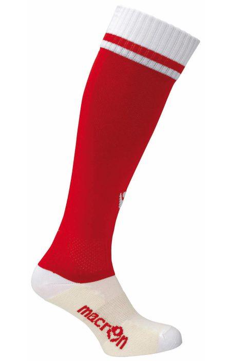RED/WHITE Dual Bicolour Socks