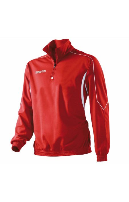 RED/WHITE Indus 1/4 Zip Top
