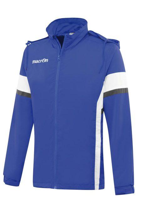 BLUE/WHITE Worth Rain Jacket