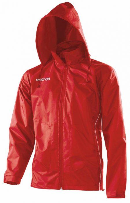 RED/WHITE Tulsa Shower Jacket