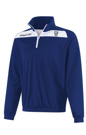 NAVY/WHITE HRBFC Youth Epic Nile 1/4 Zip Top