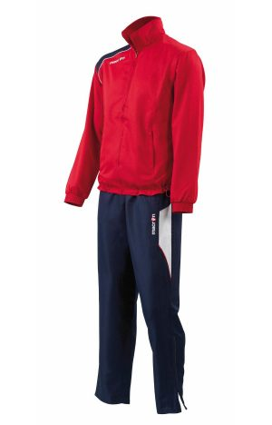 RED/NAVY/WHITE Satyr Microfiber Tracksuit Set