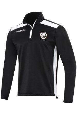 BLACK/WHITE Hereford FC Tarim 1/4 Zip Top