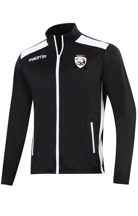 BLACK/WHITE Hereford FC Nixi Full Zip Top