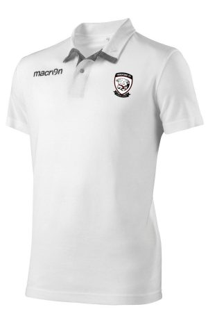 WHITE/GREY Hereford FC Swing Polo Shirt