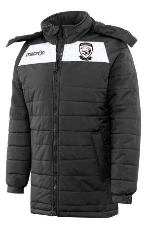 BLACK/WHITE Hereford FC Helsinki Jacket