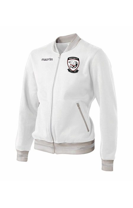 WHITE Hereford FC Funky Sweatshirt