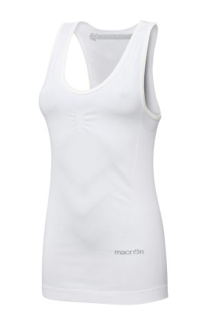 WHITE Performance ++ Woman Compression Singlet
