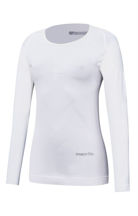 WHITE Performance ++ Woman Comp LS Top