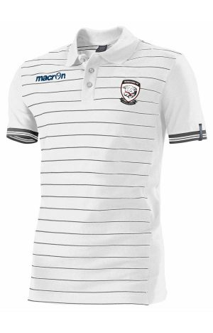 WHITE/GREY Hereford FC Jungle Polo Shirt