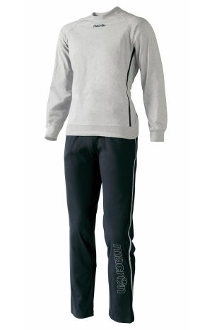 GREY/BLACK VICTORIA Tracksuit Set