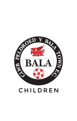 Bala Town FC Children Sizes